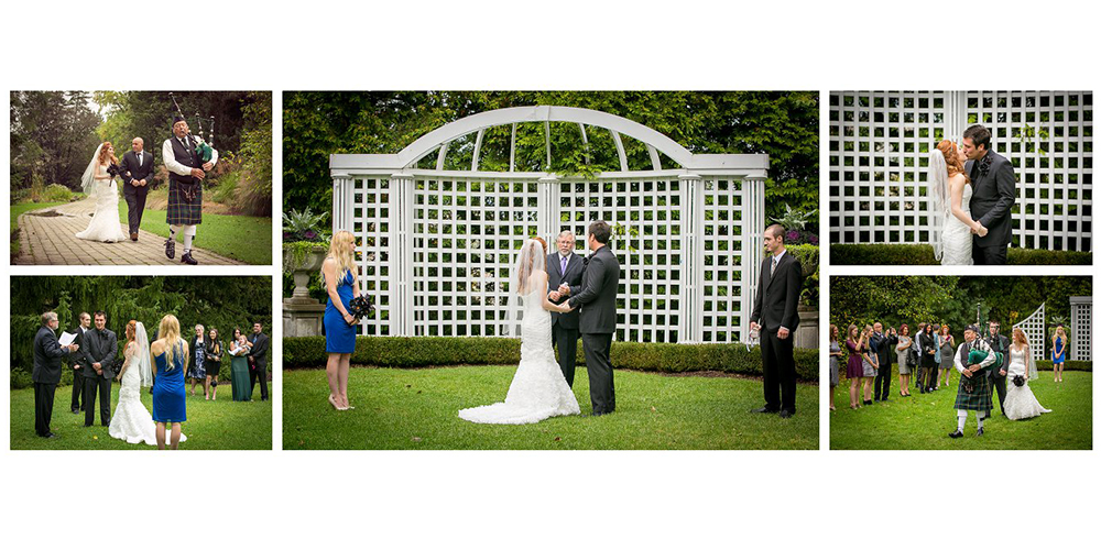 Niagara Falls Weddings Botanical Gardens
