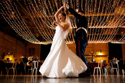Niagara Falls wedding dance